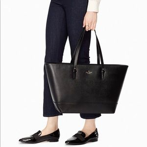 NEW Kate Spade Black Tote Bag with dust bag